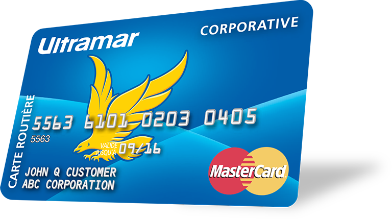 La carte Ultramar MasterCard Corporative