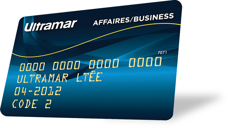 Ultramar business card