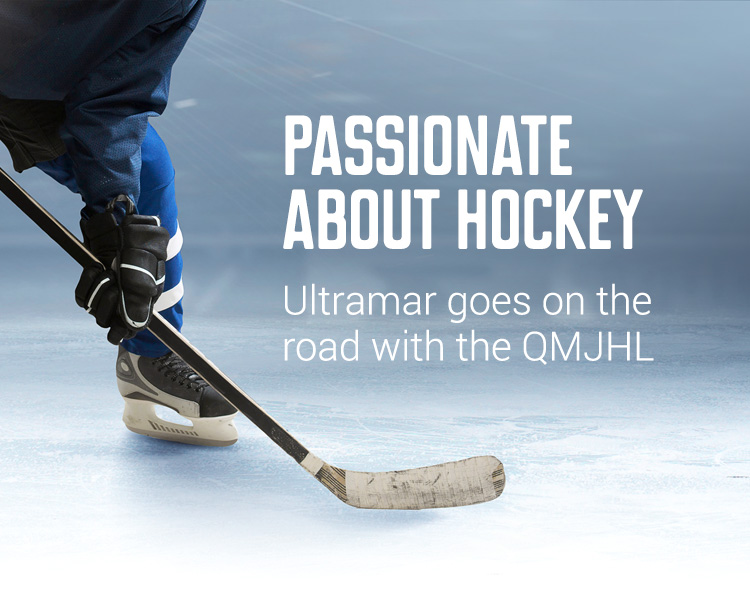 Passionnate about hockey - Ultramar goes on the roead with the QMJHL