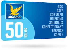 $50 Ultramar gas gift card